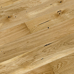 Colours Chamili Oak Effect Wood Top Layer Flooring