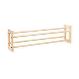Natural Pine Shoe Rack (W)1070mm