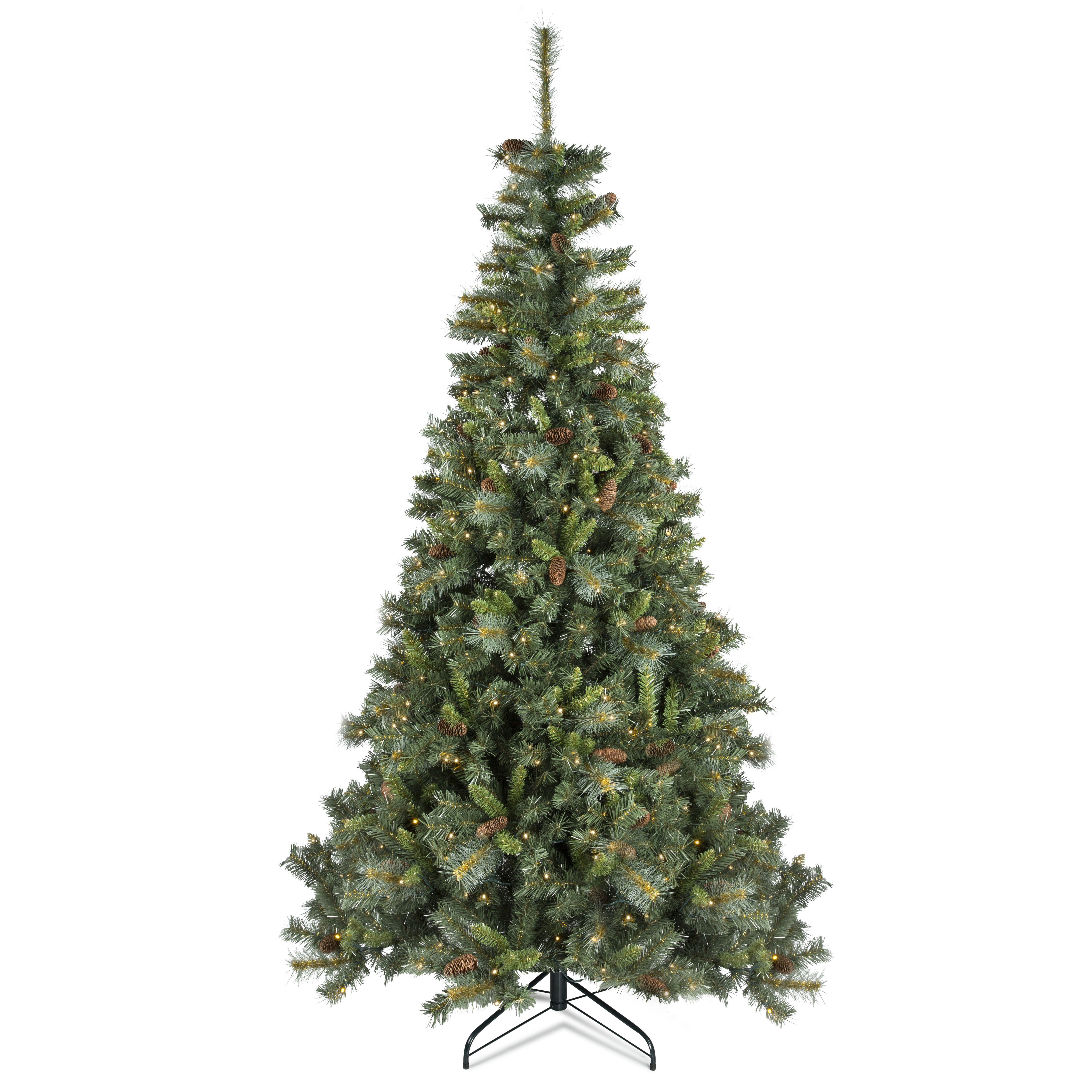 7 Ft Pre Lit Christmas Trees