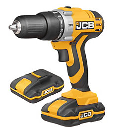 JCB Cordless 20V 1.5Ah Li-Ion Combi Drill 2
