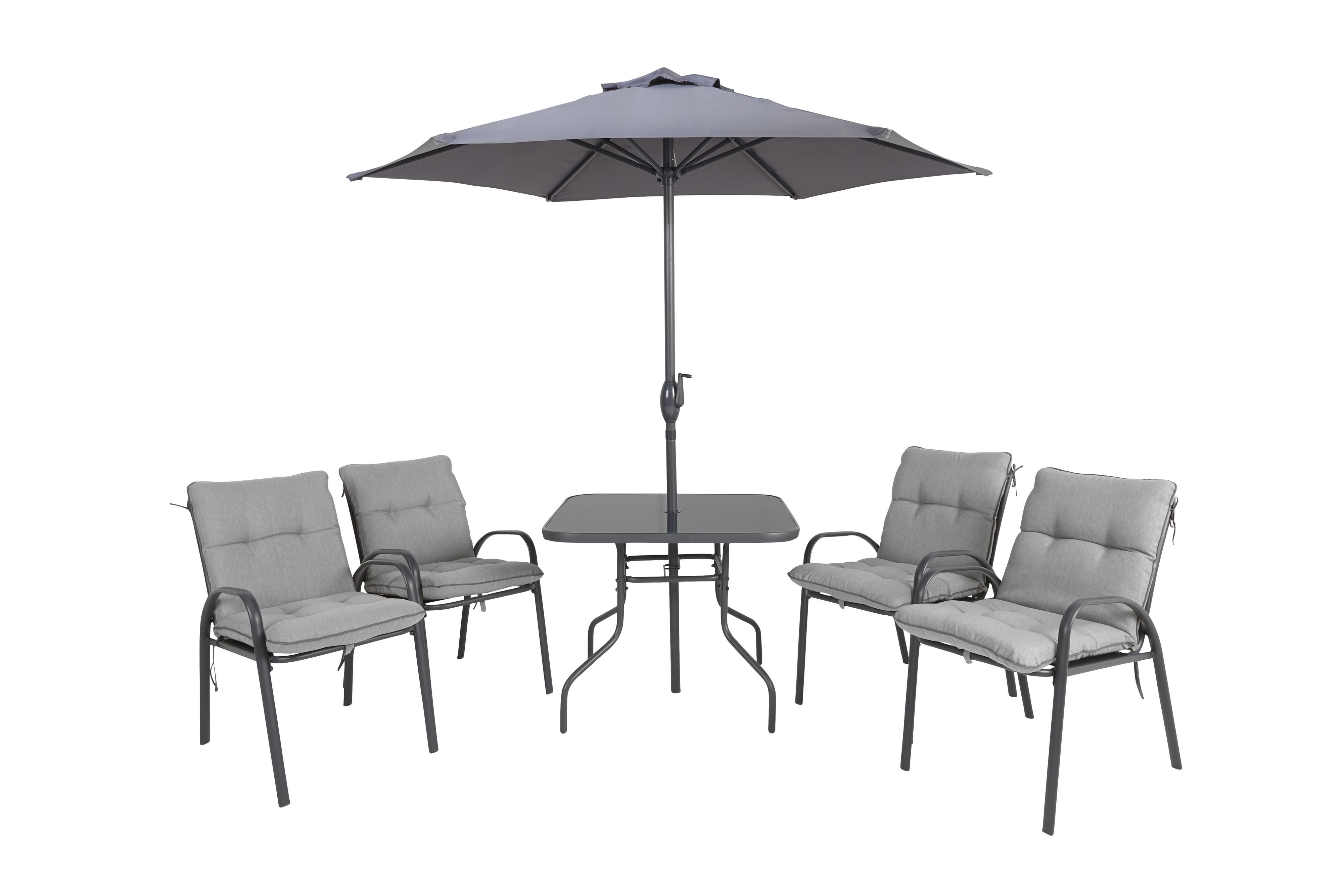 Cranbrook Metal 4 Seater Dining Table Amp Chairs