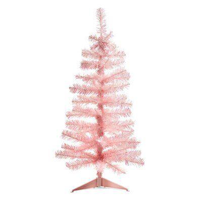 3 Ft Pink Christmas Tree Departments Diy At B Q