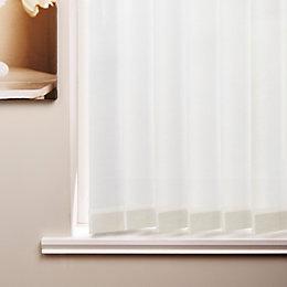 Colours White Vertical blind (W)180 cm (L)137 cm