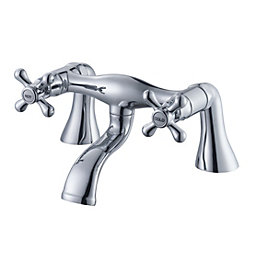 Plumbsure Azure Chrome finish Bath mixer tap