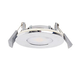 Chrome Effect LED Fixed Downlight 8.5 W Ip65