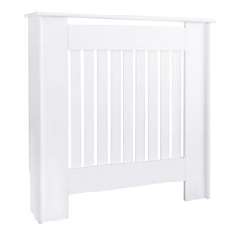 Kensington Mini White Painted Radiator Cover