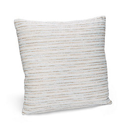 Dakayla Striped Duck egg Cushion