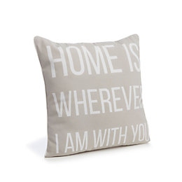 Clarabelle Home Beige Cushion