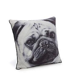 Danita Pug Black Cushion