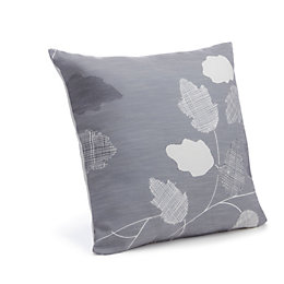Centola Leaves Grey Cushion
