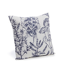 Charde Meadow Blue Cushion