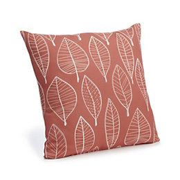 Carminda Leaves Orange Cushion