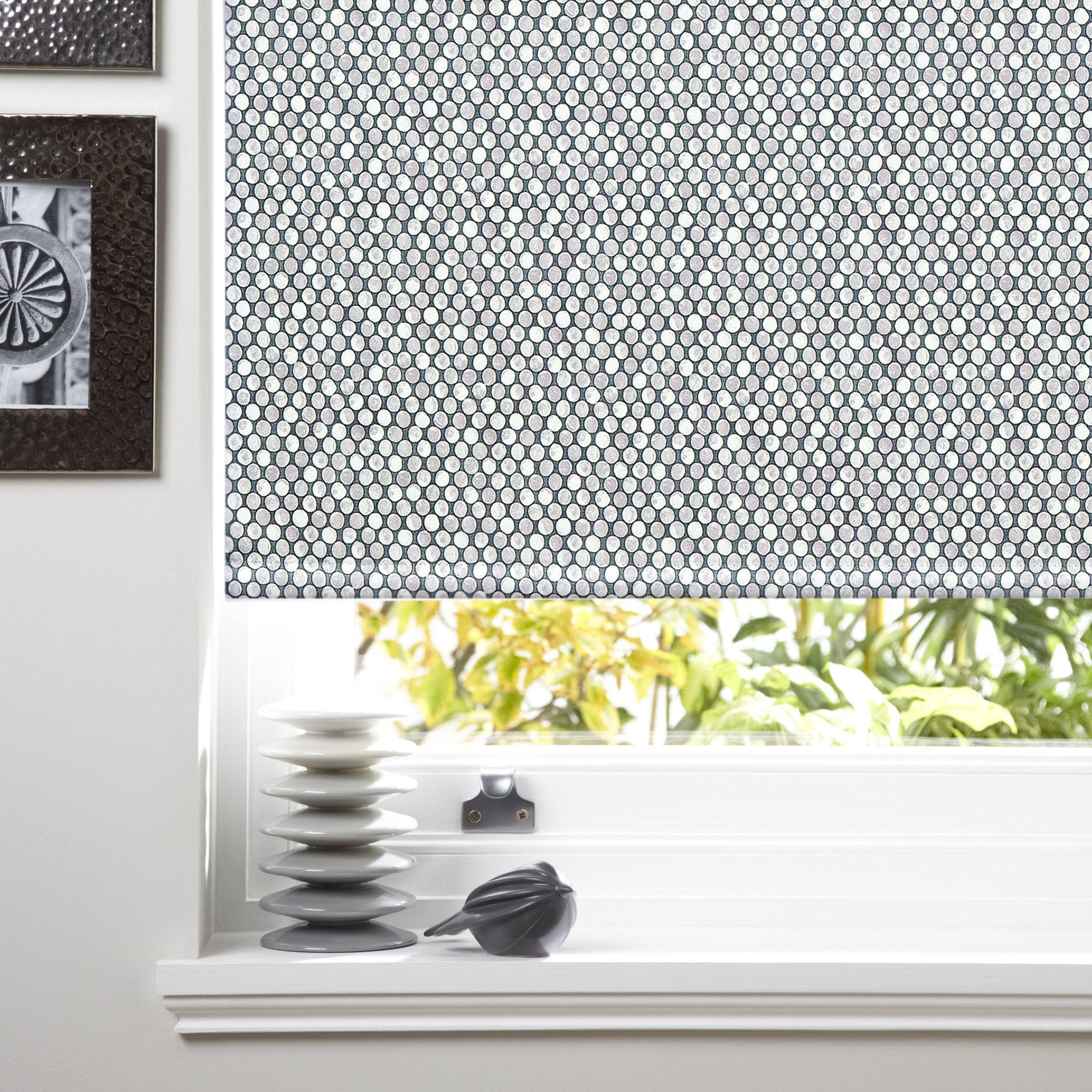 colours belarmina corded grey blackout roller blind l 160. Black Bedroom Furniture Sets. Home Design Ideas