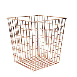 Form Mixxit Copper Wire Storage Cube Basket (W)310mm