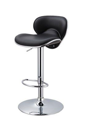 Malvern Chrome Effect Bar Stool H 972mm W 450mm Departments Diy At B Q
