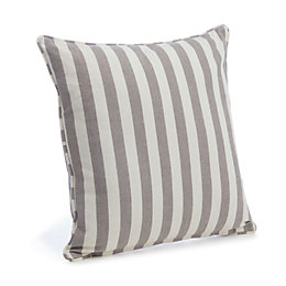 Choyo Striped Grey Cushion