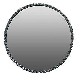 Colours Annona Framed Circular Mirror (H)510mm (W) 510mm