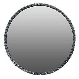 Colours Annona Framed Circular Mirror (H)510mm (W) 510mm