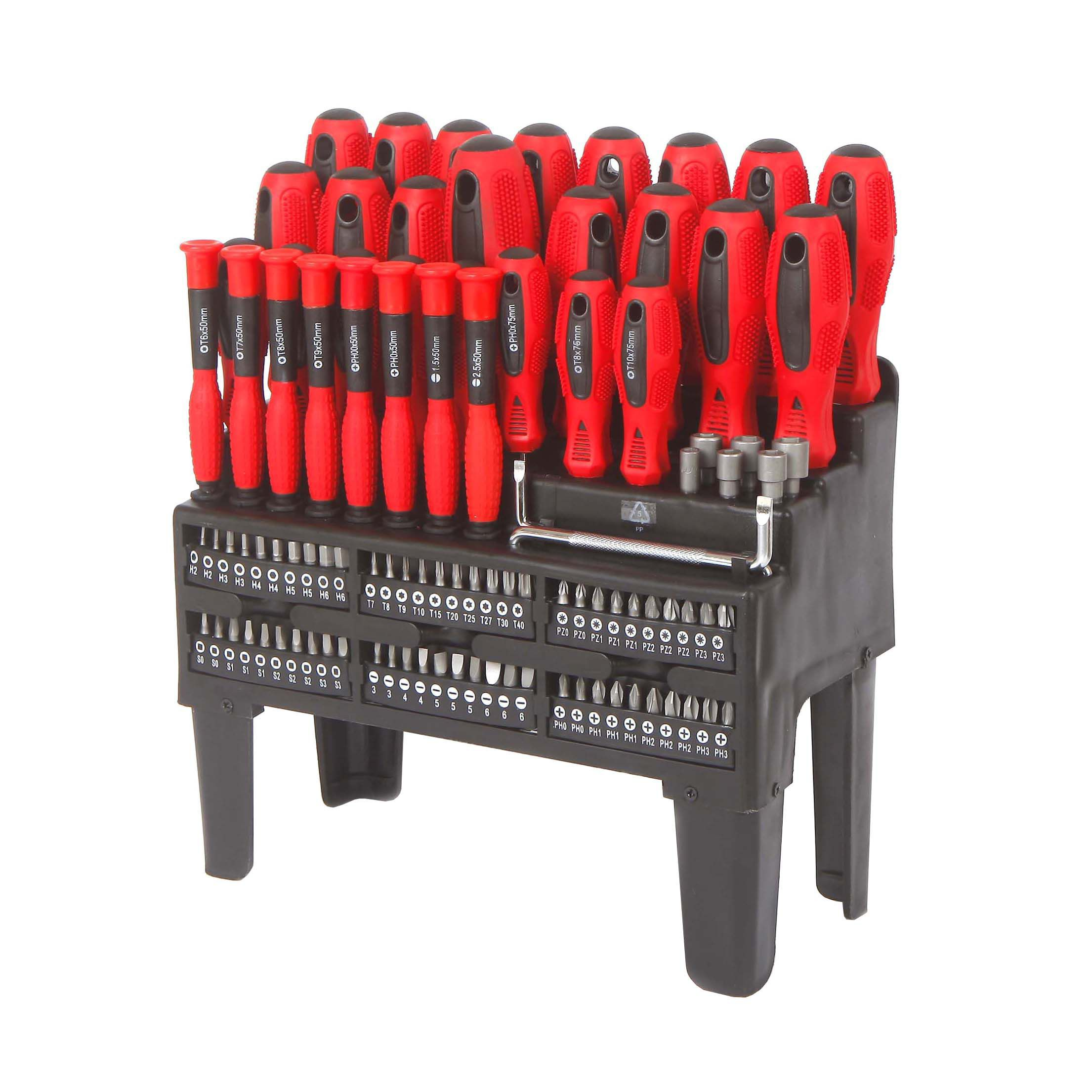Workpro 100screwdriver Set Departments Tradepoint