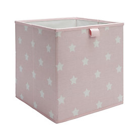 Form Mixxit Pink & White Star Storage Basket