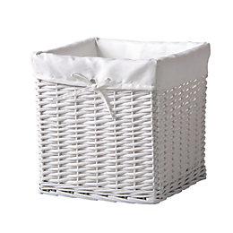 Form Storage & Craft White Willow Storage Box