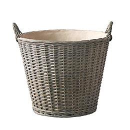 Grey Willow Storage basket