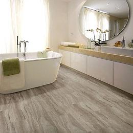 Sand effect Waterproof Luxury vinyl click flooring 2.22m²