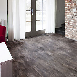 Grey Slate effect Waterproof Luxury vinyl click flooring