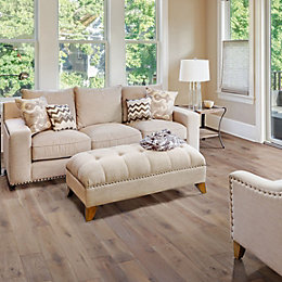 Colours Soren Antique Ash Solid Oak Flooring Sample