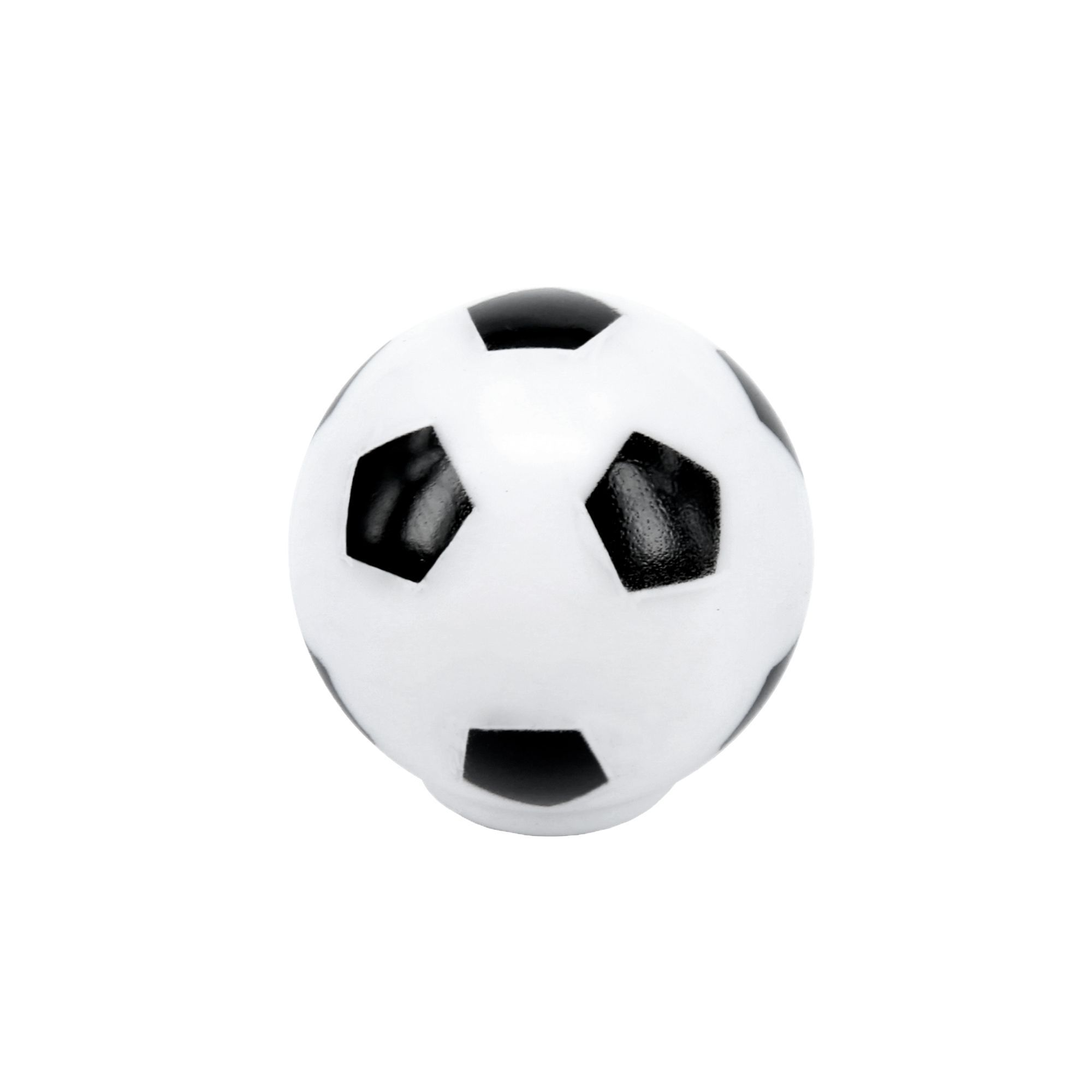B&Q Colours Football Internal Knob Furniture Knob (D)33 mm, Pack of ...