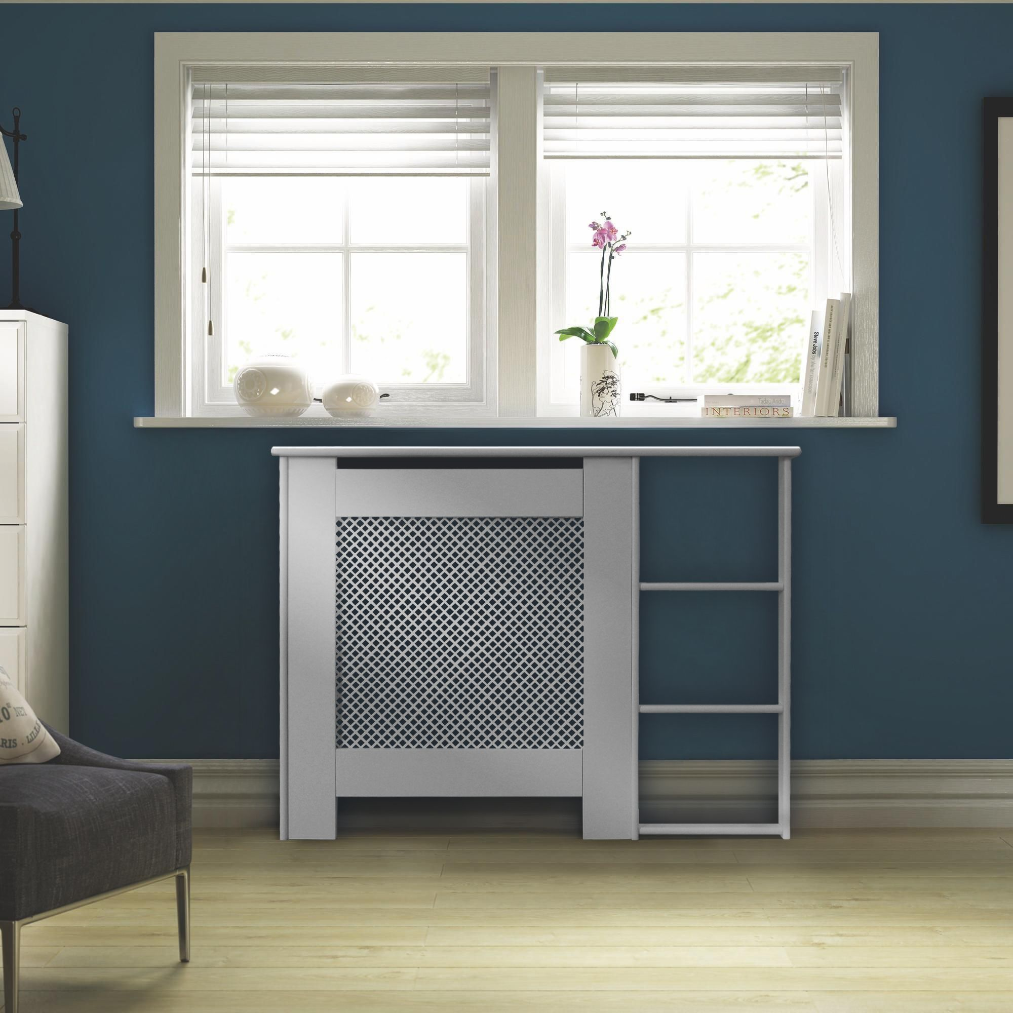 Mayfair Mini White Painted End Shelf Radiator Cover