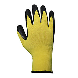 B&Q Extra Large Latex & Polyester Grip Glove