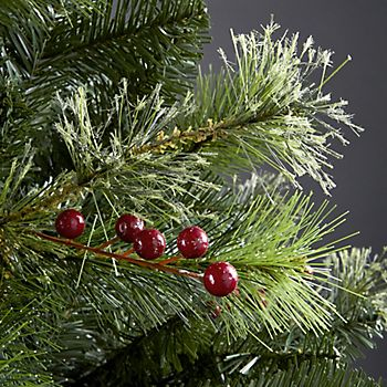 Cashmere branch tips of the 7ft Lakewood Pre-Decorated Artificial Christmas Tree