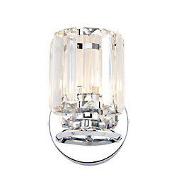 Bromley Chrome Effect Wall Light