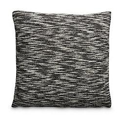 Braelym Knitted Slub Black Cushion