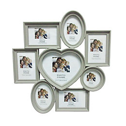 Grey Multi Aperture Plastic Photo Frame (H)500mm x