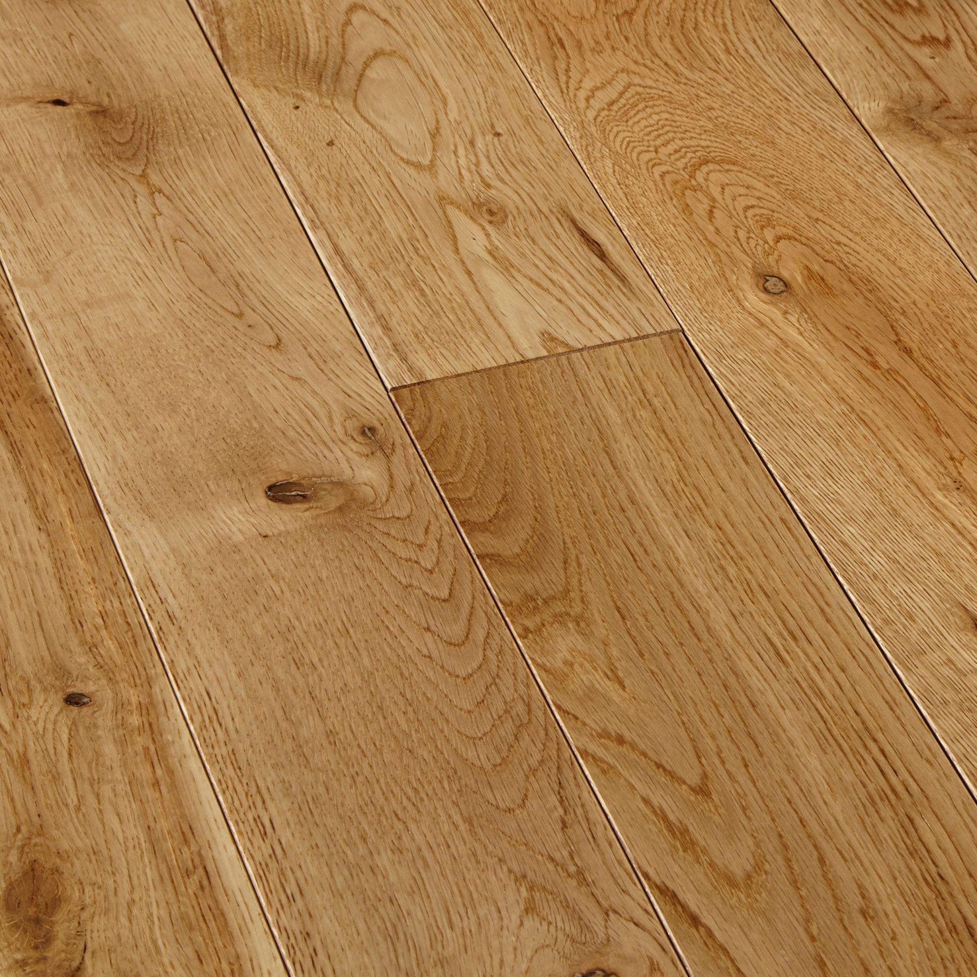 Colours Symphonia Natural Solid wood flooring 1.3 m²
