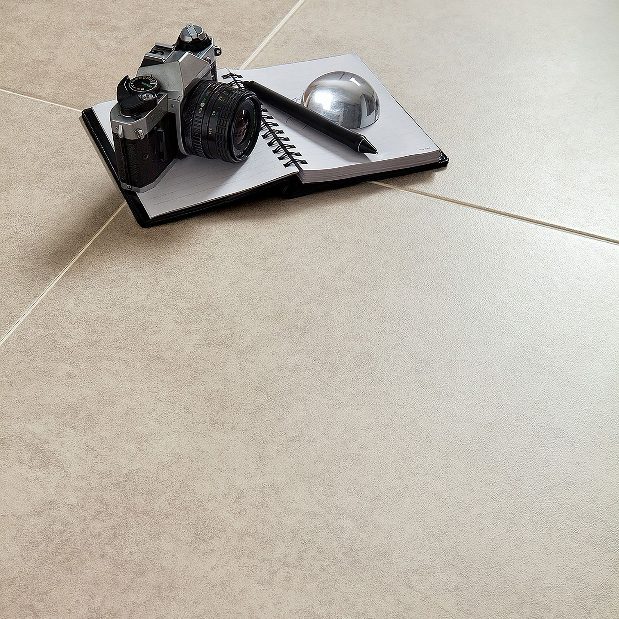 Bianco cement inspired design porcelain floor tile pack of 5 l bianco cement inspired design porcelain floor tile pack of 5 l450mm w450mm departments diy at bq dailygadgetfo Image collections