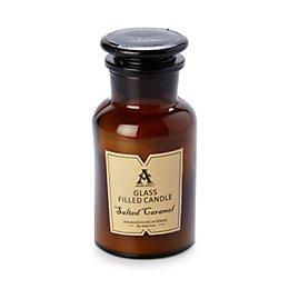 Filled Stopper Jar Salted Caramel Candle Large