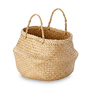 Flat woven Seagrass Basket