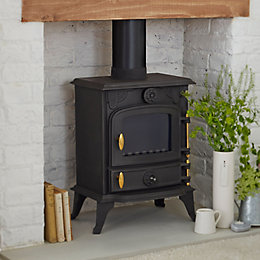 Beldray Wood or Solid Fuel Stove, 5 kW