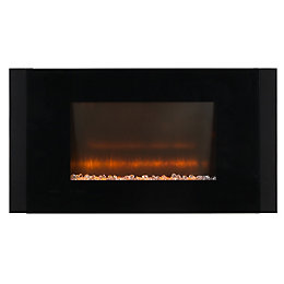 Beldray Chicago Black LED Remote control Electric fire