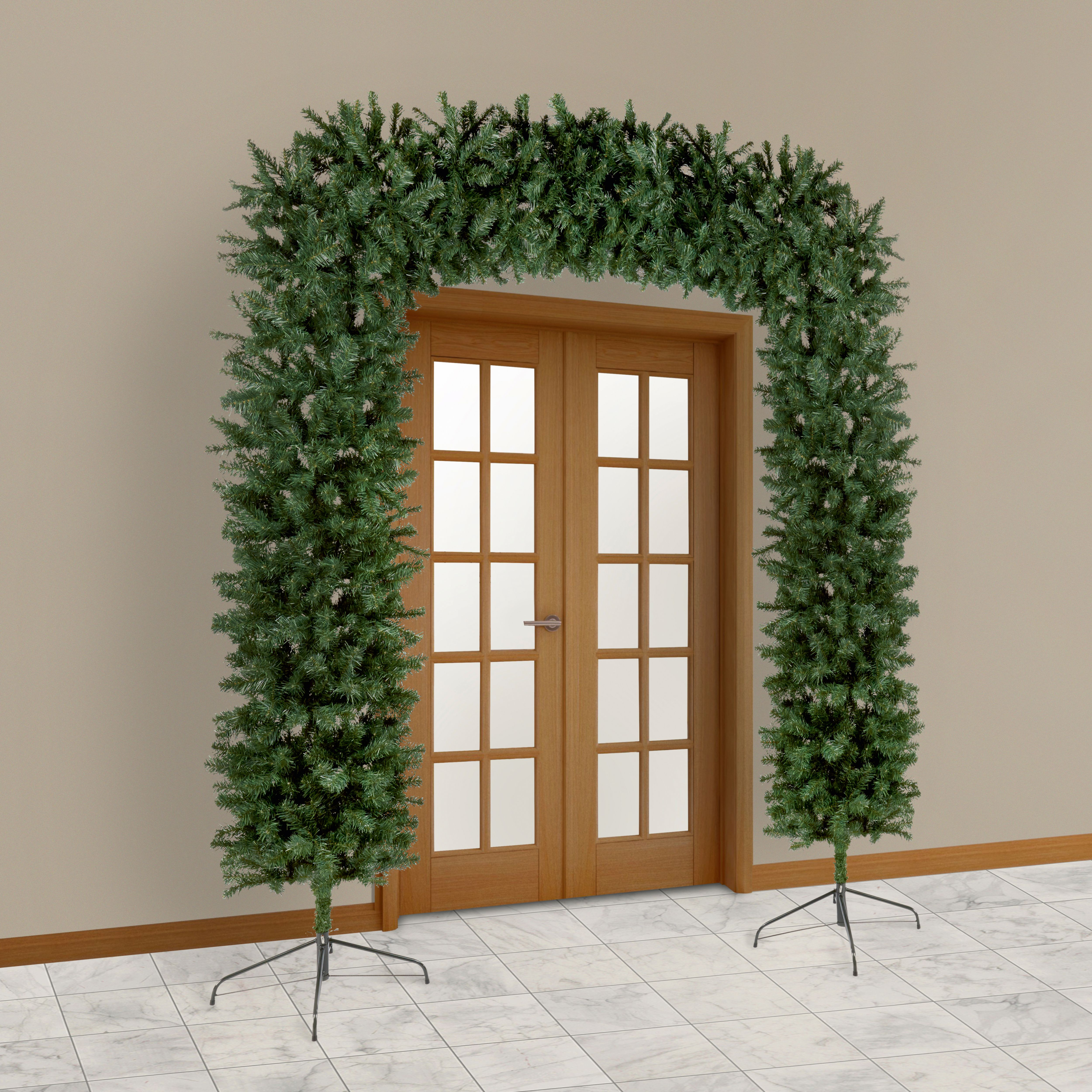 Homebase Artificial Christmas Trees: 8ft Classic Artificial Christmas Tree Arch