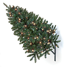 3ft Pre-lit LED Wall christmas tree