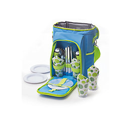 Baby blue Picnic bag