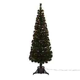 4ft 9in Slim Fibre Optic Christmas tree