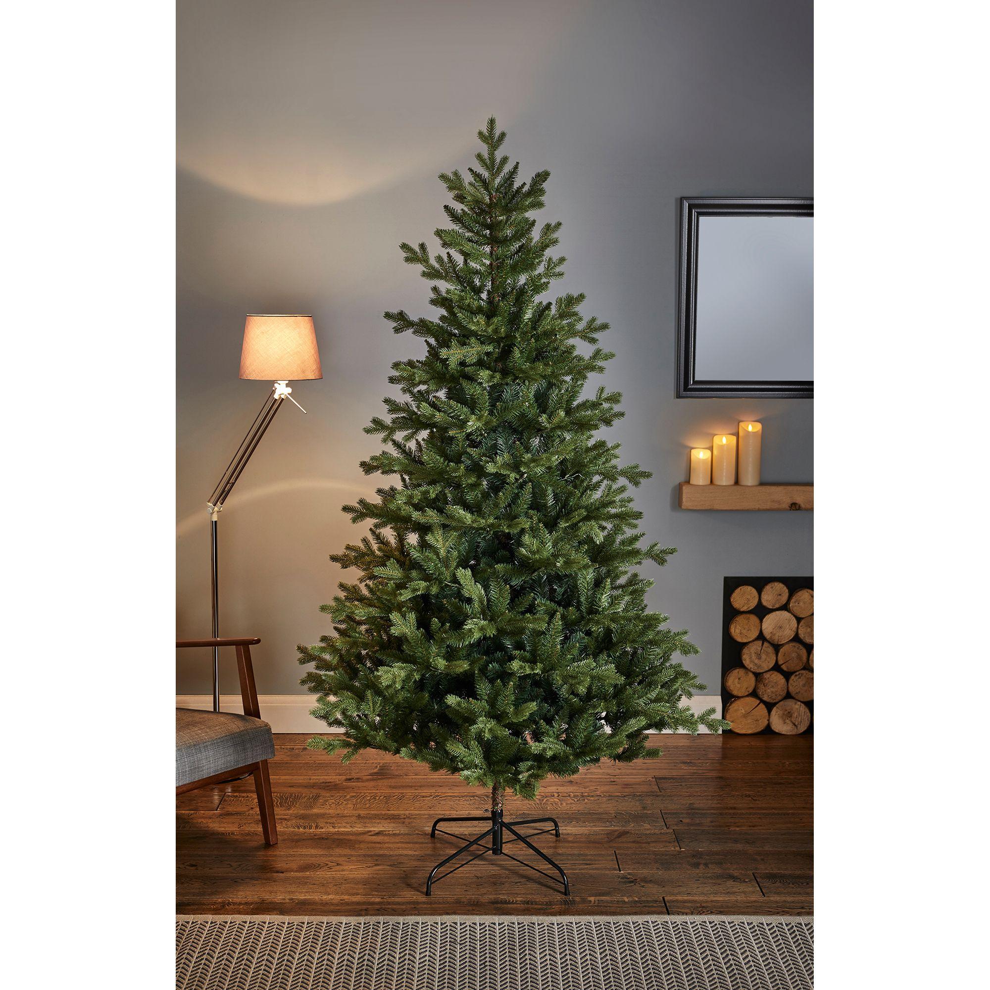 7ft Elsie Pine Artificial Christmas Tree Departments Diy At B Q