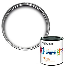 Valspar Interior Pure Brilliant White Satin Wood &