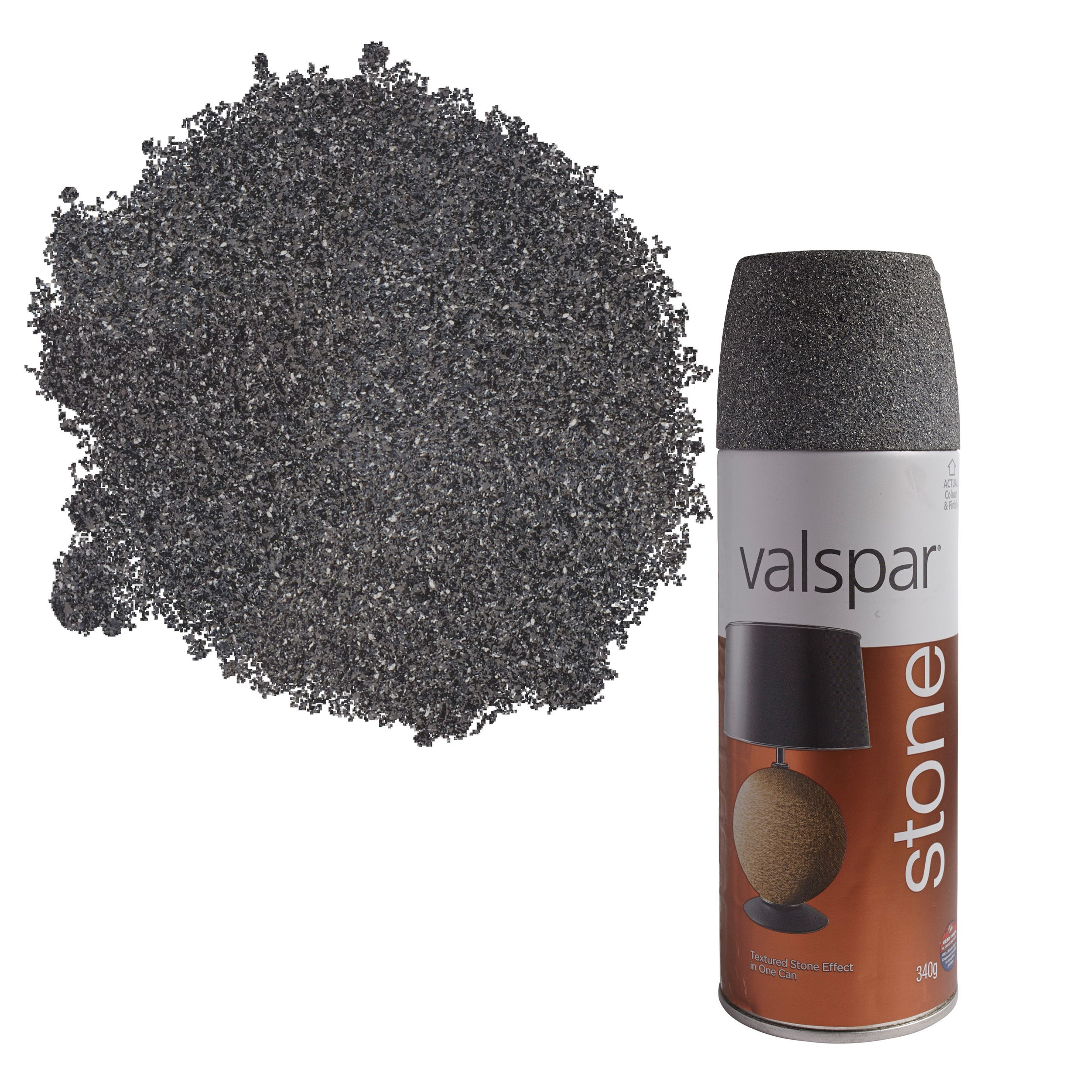 Valspar Manhattan Mist Stone Effect Matt Spray Paint 400
