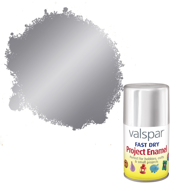 Valspar Fast Dry Aero Chrome Metallic Enamel Spray Paint